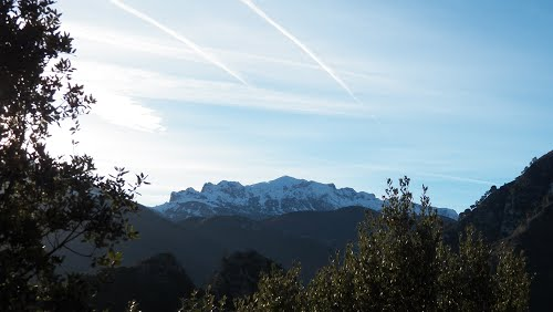 La Gamonal desde la subida a Castañedo del Monte. SANTO ADRIANO.