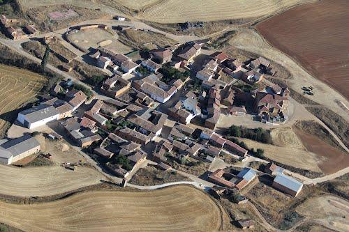 Vista aérea de San Cristóbal de Boedo