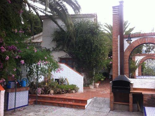 Chimenea de la casa rural El Valle