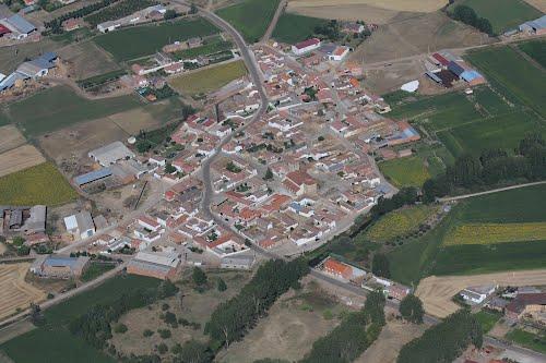Vista aérea de Lagunilla de la Vega