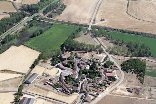 Vista aérea de Abarca de Campos