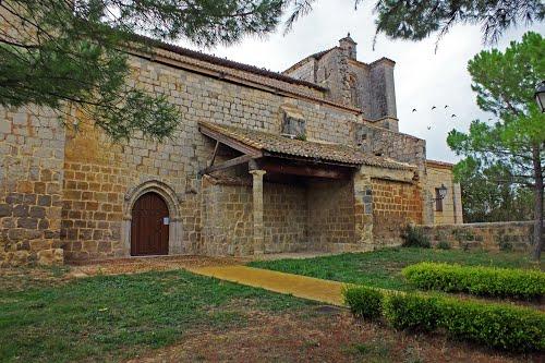 Iglesia de Castrillo de Matajudios. Burgos.