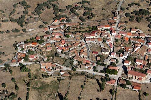 Vista aérea de Hoyorredondo