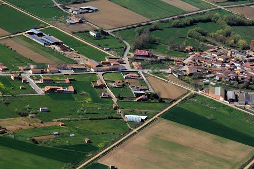Vista aérea de Mansilla Mayor