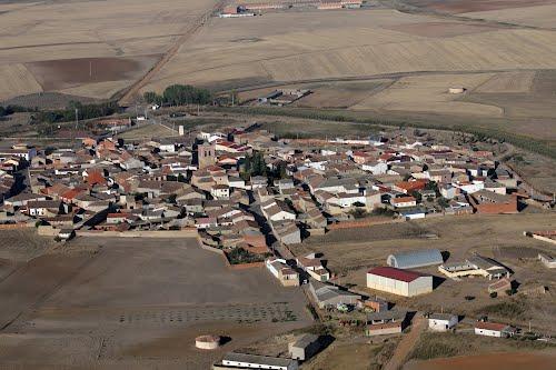 Vista aérea de Villalba de la Lampreana