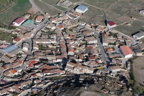 Vista aérea de Herrera de Valdecañas