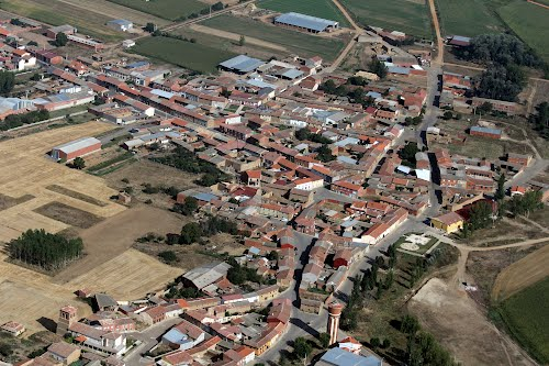 Vista aérea de Cimanes de la Vega
