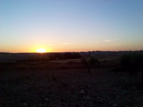 puesta de sol santa maría de los llanos