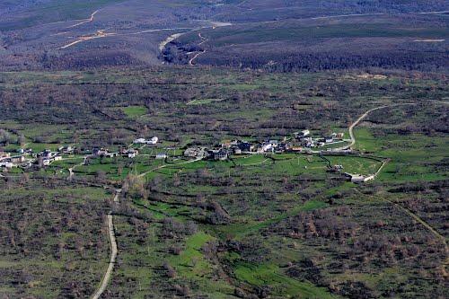Vista aérea de Lagarejos de la Carballeda