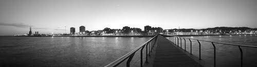 Pont de petroli - Badalona