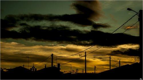 puesta de sol Milles de la Polvorosa