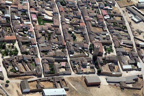 Vista aérea de Aguilar de Campos