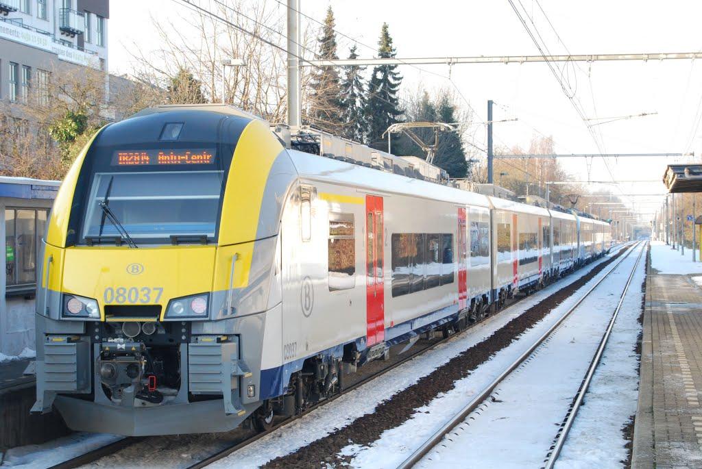 Ligne Charleroi-Antwerpen.