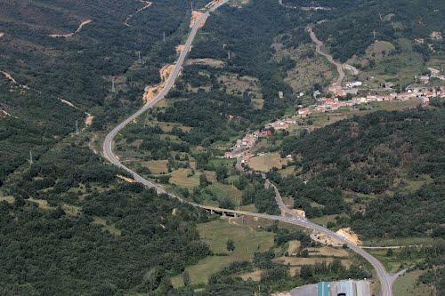 Vista aérea de Sorribos de Alba