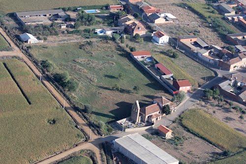 Vista aérea de Villanueva de Azoague
