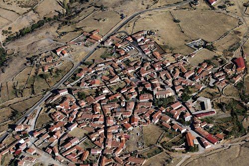 Vista aérea de San Juan del Olmo