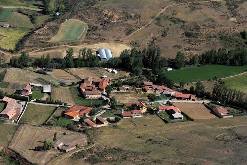 Vista aérea de Villanueva del Arbol
