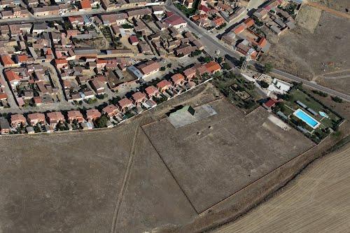 Vista aérea de Villamayor de Campos