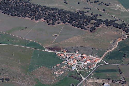 Vista aérea  de Segoyuela de los Cornejos
