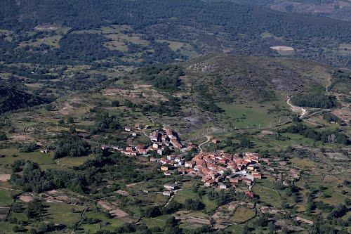Vista aérea de Pinedas
