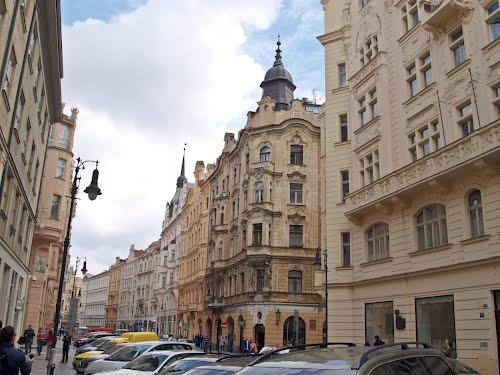 Fassaden in Josefov, Praha, Prague, Prag