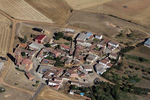Vista aérea de Villalafuente