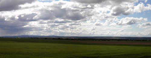 El campo en primavera cerca de Anaya de Alba