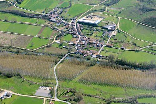 Vista aérea de San Vicente del Condado