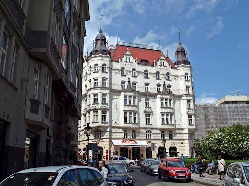 Fassade in Josefov, Praha, Prague, Prag