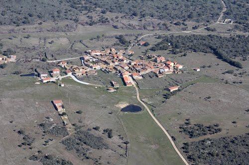Vista aérea de Villar de Farfón