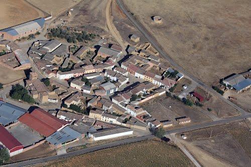 Vista aérea de Robladillo de Ucieza