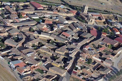 Vista aérea de Mazariegos