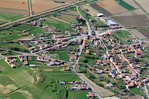 Vista aérea de Villafañé
