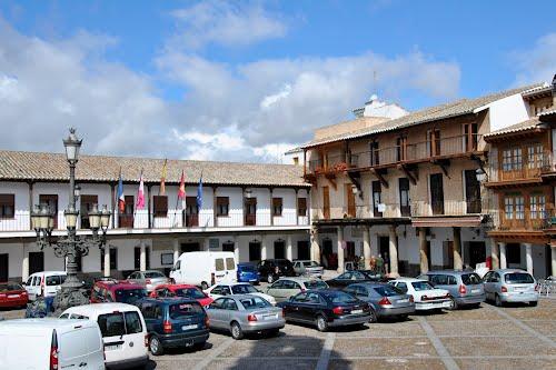 Plaza Mayor de La Puebla de Montalbán - Toledo - Spain