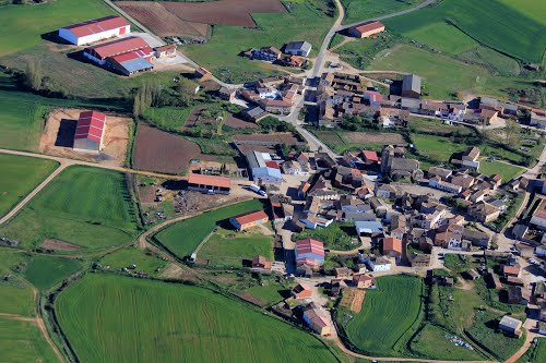 Vista aérea de Guadilla de Villamar