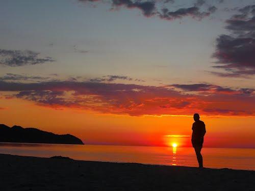 Morgens am Strand von Cala Millor