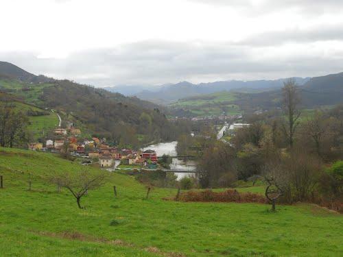 Rio Sella , Villanueva y Cangas de Onis