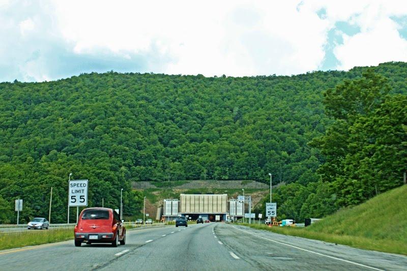 Big Walker Mountain Tunnel - Built 1972