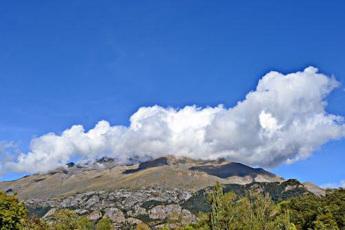 Vistas desde Tramacastilla de Tena, (Huesca)