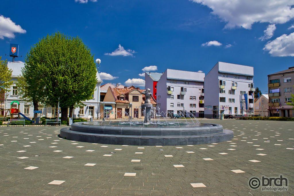 Gospic Main Square Mapio Net