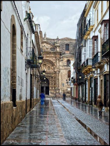 Mañana de lluvia en Puerto de Santa María