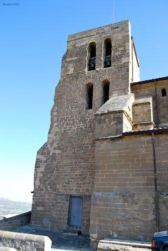 Bolea: La colegiata de Sta Mª la Mayor, torre