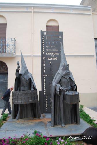 """ALMASSORA  2012.-  Monumento a los """"TAMBORS DE PASSIÓ"""""""