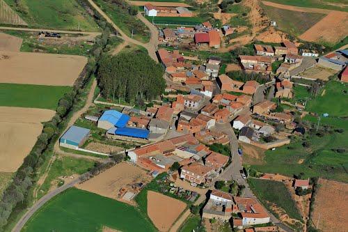 Vista aérea de Tabuyuelo de Jamuz