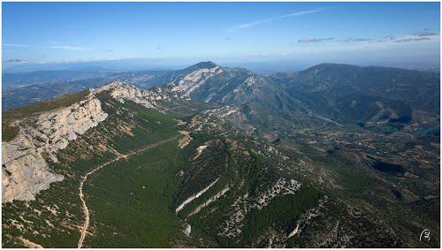 crête Est de la Sierra Montsec