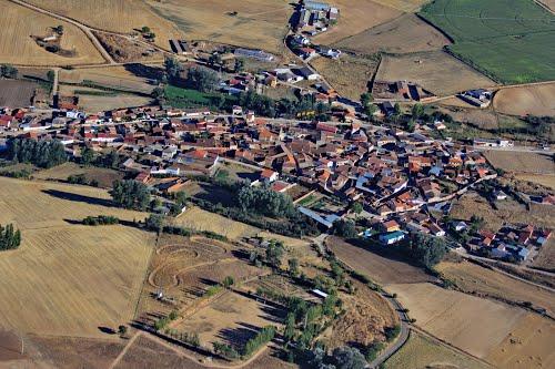 Vista aérea de Fuentespeadras