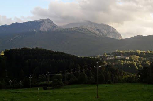 Cara norte del Turbón y San Feliu de Veri