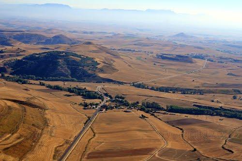Vista aérea de Villamayor del Río