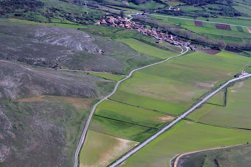 Vista aérea de Cillamayor