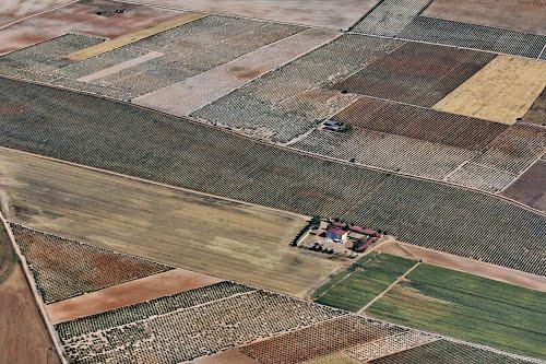 Vista aérea de la bodega Viñedos de Villester